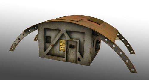 Small Human Refugee Hut - 28MTW005