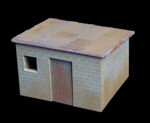 Shanty Town Building, Cinder Block - 20MSHA005
