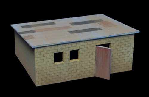 Shanty Town Building, Cinder Block - 20MSHA007
