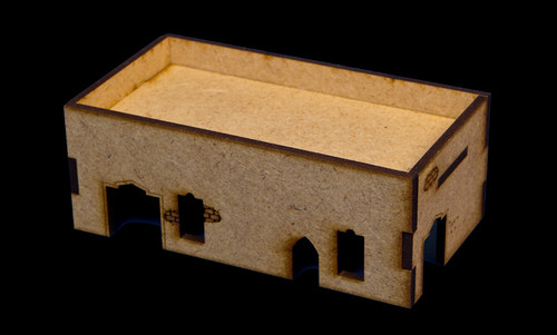 Middle East One Story Building - 28MMDF015
