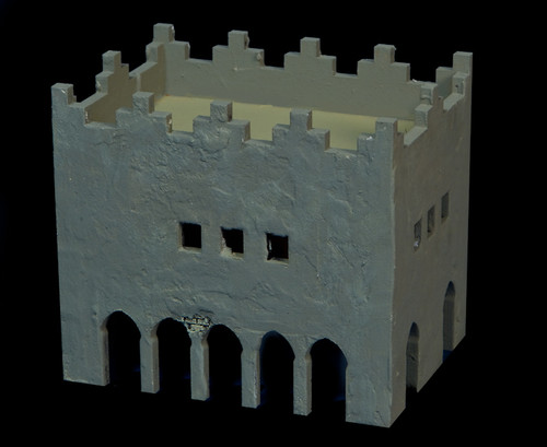 Middle East Two Story Building - 28MMDF016