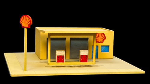 Gas Station (Acrylic) - 10MACR050
