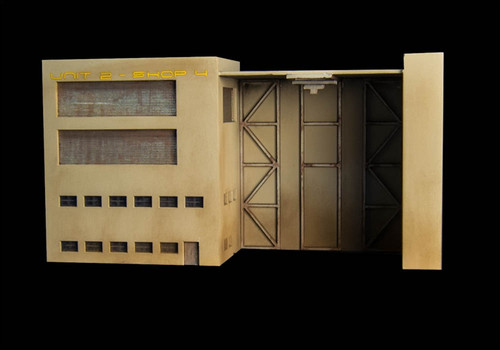 Mech Hangar (Acrylic) - 10MACR052