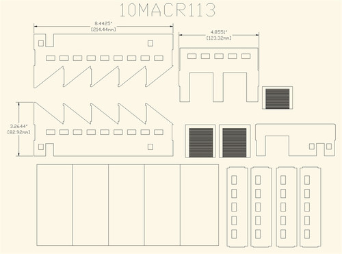 Factory (Acrylic) - 10MACR113