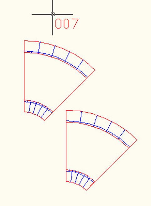 45 Degree Curve, 2 Lane Road - 10MROAD007