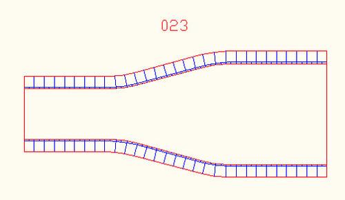 2 Lane to 4 Lane Transition - 10MROAD023
