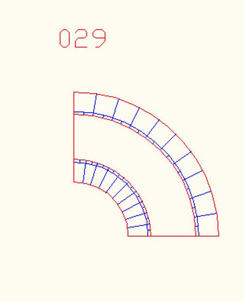 90 Degree Curve, Single Lane - 10MROAD029
