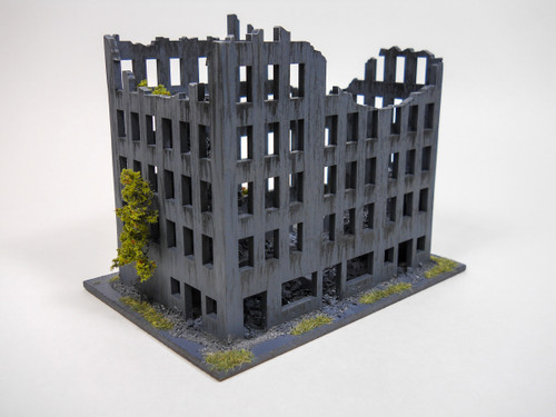 Ruined City Building (Wood) - 10MMDF007
