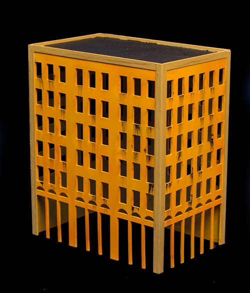 City Building (Wood) - 10MMDF021
