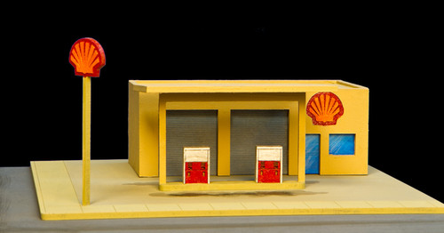 Gas Station (MDF) - 10MMDF050