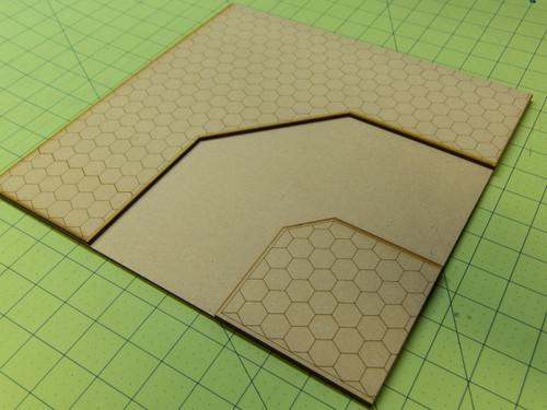 """12"""" City Tile - Curve Section - 15MTILE013"""