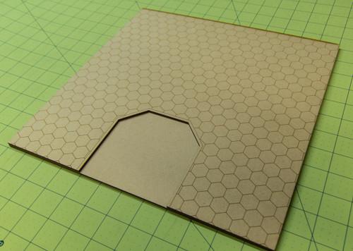 """12"""" City Tile - Dead End Section - 15MTILE014"""