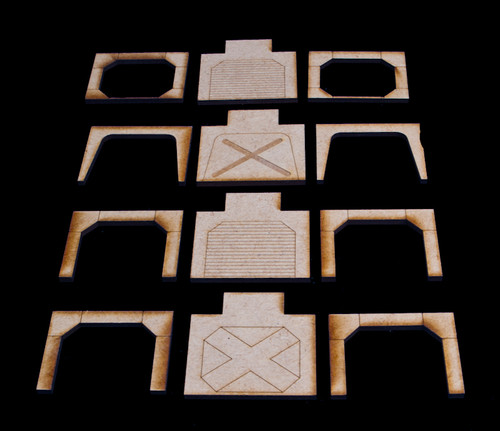 Doors and Arches (18 Sets) - SPACE024