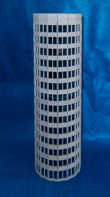 Ultra Modern / Future City Round Skyscraper - 15MTW503