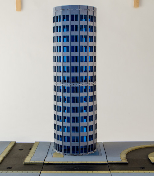6mm Modern / Future Round City Building 285CSS053