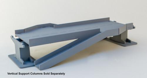 Double Side Ramp Roadway Section, 4 Lane - 285ROAD107-1