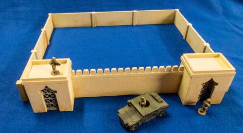 20mm Temple Walls (MDF) - 20MMDF160-2