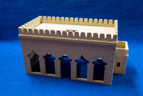 15mm Temple (MDF) - 15MMDF160-1