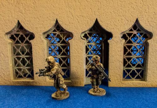 28mm Temple Door and Window Kit - 28MMDF160-1D