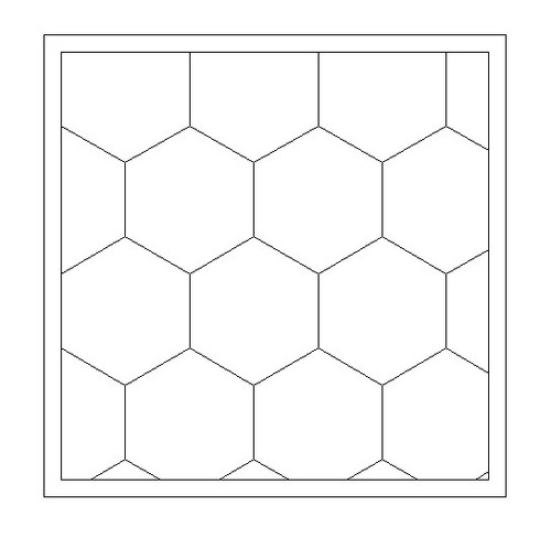 "City Tile, 1.5"" Hexes (MDF) - EPICTILE007-6"