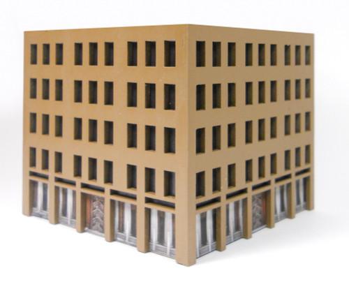 10mm City Building (MDF) - 10MMDF025-1