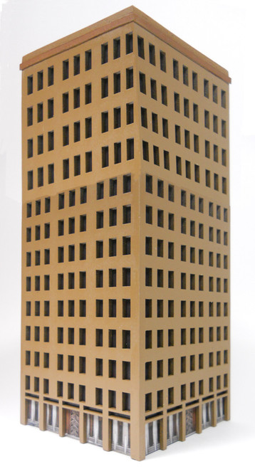 10mm City Building (MDF) - 10MMDF025-2