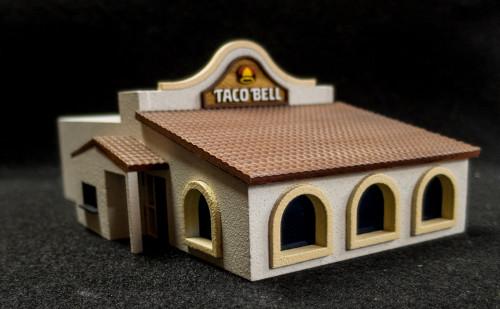 20mm Taco Bell Store (MDF) - 20MMDF163