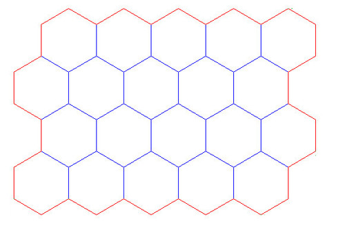 "Hex Bases, ""Block of 20"" - (2"")"