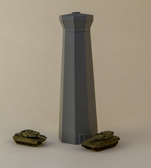6mm Airport Control Tower (Resin) - 285MEV069