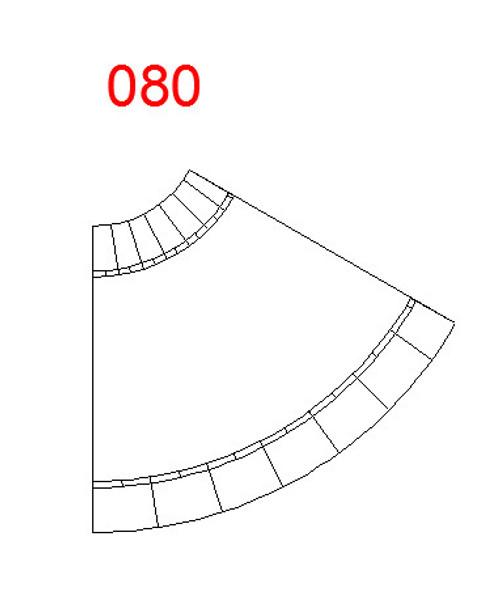 60 Degree Curve, 2 Lane Road - 285ROAD080