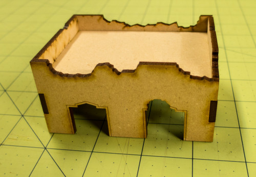 Middle East One Story Building (MDF) - 15MMDF014-D