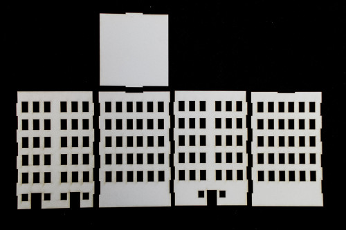 10mm City Building (Matboard) - 10MCSS006