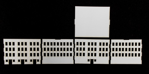 10mm City Building (Matboard) - 10MCSS009