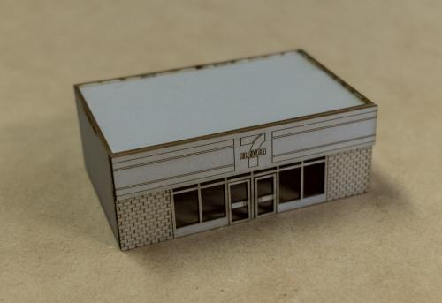 10mm 7-11 Store (Matboard) - 10MCSS124