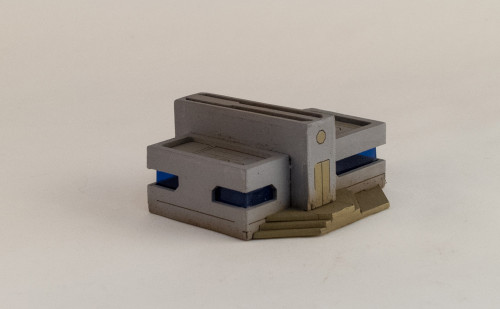 10mm Sci-Fi Future World Building (Matboard) - 10MCSS252-1