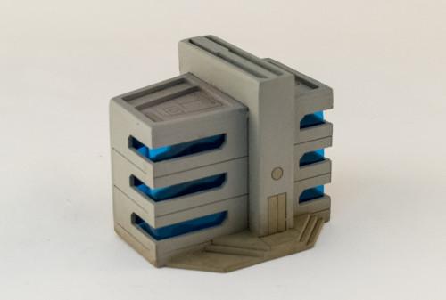 10mm Sci-Fi Future World Building (Matboard) - 10MCSS252-6