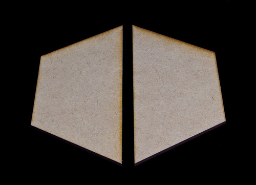 "3"" Edge Hexes (2) - HEX3-2"