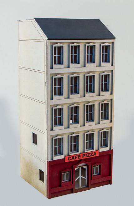 15mm European City Building (Matboard) - 15MCSS107