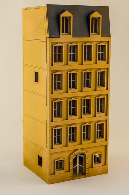 15mm European City Building (Matboard) - 15MCSS110