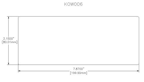 Horde Base 200mm x 80mm