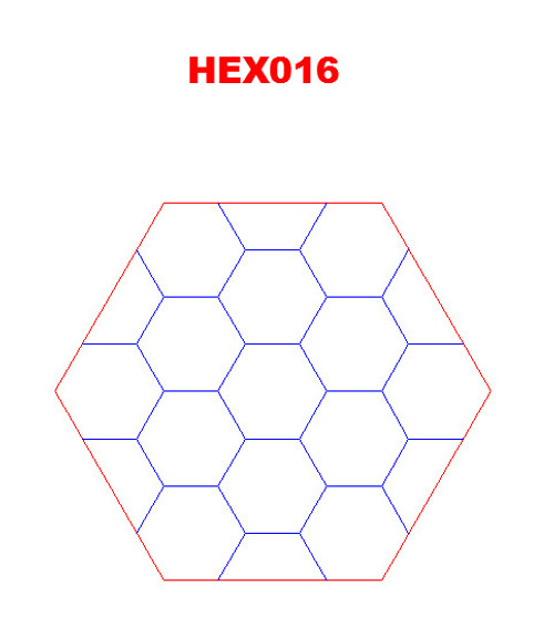 """Hex with 1.5"""" Engraved Hexes - 285HEX016"""