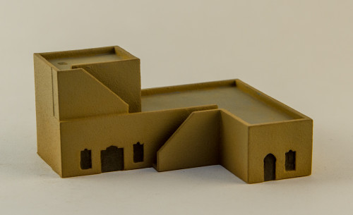Large Middle Eastern Residence  (Resin) - 285MEV072