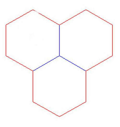 "Hex Bases, Triple Hex - (4"")"