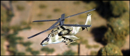 Ka 34 Hokum Helicopter - Attack helicopter (1/pk)  - AC30