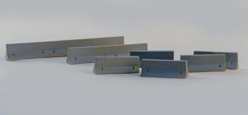 10mm K-Rails (AKA Jersey Barriers) (Resin) - 10MSCE001