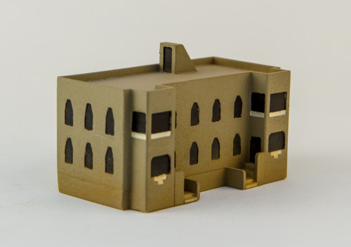 Middle Eastern Apartment Block  (Resin) - 285MEV075