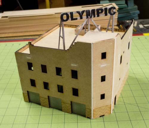 15mm Olympic Hotel (MDF) - 15MMDF170