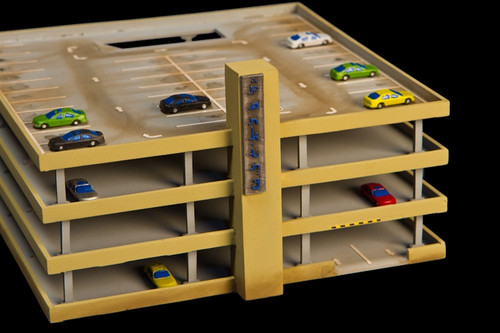 10mm Parking Structure, Top Floor (Acrylic) - 10MACR082-3