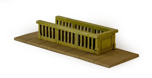 10mm Subway Entrances, 4 per pack (Matboard) - 10MCSS260