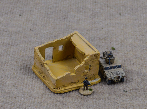 Ruined Afghan Style Hovel (MDF) - 15MMDF070
